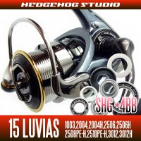 15 LUVIAS 1003,2004,2004H,2506,2506H,3012,3012H Full Bearing Kit 【SHG】
