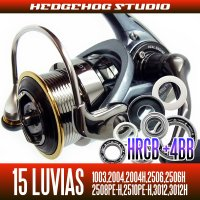15 LUVIAS 1003,2004,2004H,2506,2506H,3012,3012H Full Bearing Kit 【HRCB】