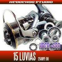 15 LUVIAS 2508PE-DH Full Bearing Kit 【HRCB】