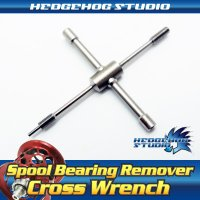 Cross Wrench for Spool Bearing Pin Remover [spare parts]
