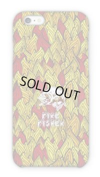 【Angler's Case】Cell-phone Case - FIRE FISHER - Fire pattern (built-to-order) (Product code:  2015101604)