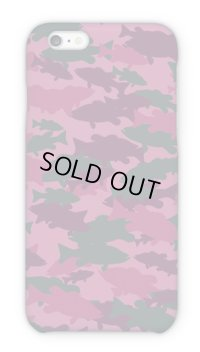 【Angler's Case】Cell-phone Case - BASS Camouflage-large - Red (built-to-order) (Product code: 2015101506)