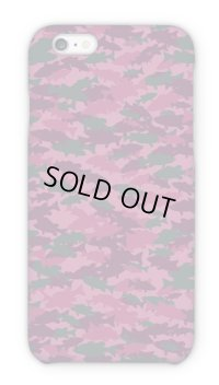 【Angler's Case】Cell-phone Case ‐ BASS Camouflage - Red (built-to-order) (Product code: 2015101316)