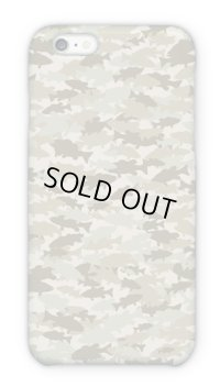【Angler's Case】Cell-phone Case - BASS Camouflage - Beige (built-to-order) (Product code: 2015101311)