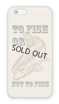 【Angler's Case】Cell-phone Case - TO FISH OR NOT TO FISH? - (built-to-order) (Product code: 2015072507)