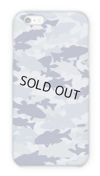 【Angler's Case】Cell-phone Case - BASS Camouflage-large - Light Blue (built-to-order) (Product code: 2015101508)