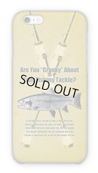 【Angler's Case】Cell-phone Case - Are You Cranky About Your Fishing Tackle? - (built-to-order) (Product code: 2015040104)
