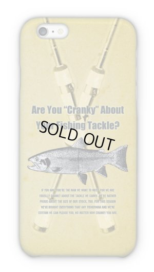 Photo1: 【Angler's Case】Cell-phone Case - Are You Cranky About Your Fishing Tackle? - (built-to-order) (Product code: 2015040104)