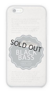 【Angler's Case】Cell-phone - Case History of Black Bass - (built-to-order) (Product code: 2015033102)