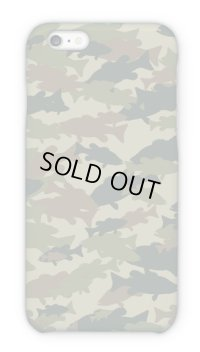 【Angler's Case】Cell-phone Case - BASS Camouflage-large - Army (built-to-order) (Product code: 2015101503)