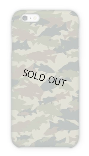 Photo1: 【Angler's Case】Cell-phone Case - BASS Camouflage-large - Army (built-to-order) (Product code: 2015101503)