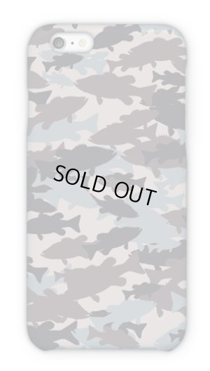 Photo1: 【Angler's Case】Cell-phone Case - BASS Camouflage-large - Army part2 (built-to-order) (Product code: 2015101504)