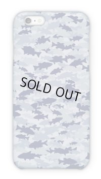 【Angler's Case】Cell-phone Case - BASS Camouflage - Light Blue (built-to-order) (Product code: 2015101318)