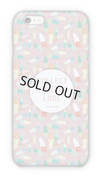 【Angler's Case】Cell-phone Case - COLLECT VINTAGE LURE - Pink (built-to-order) (Product code: 2015041705)