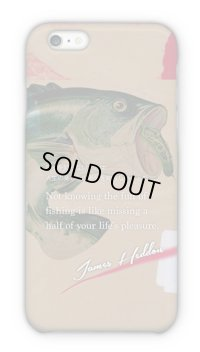 【Angler's Case】Cell-phone Case - Witticism of James Heddon - (built-to-order) (Product code: 2015042401)