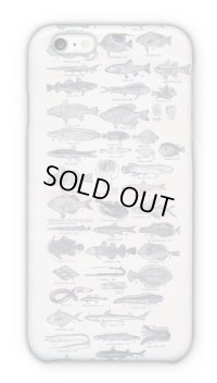 【Angler's Case】Cell-phone Case - Fish Picture Book of 1890s - (built-to-order) (Product code: 2015040102)