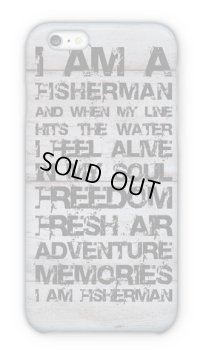 【Angler's Case】Cell-phone Case - I am a fisherman. - (built-to-order) (Product code: 2015052902)