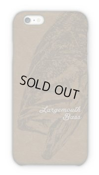 【Angler's Case】Cell-phone Case - BASS - BROWN (built-to-order) (Product code: 2015030802)