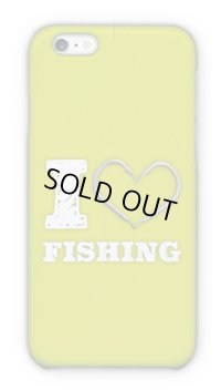 【Angler's Case】Cell-phone Case - I love Fishing - Green (built-to-order) (Product code: 2015090807)