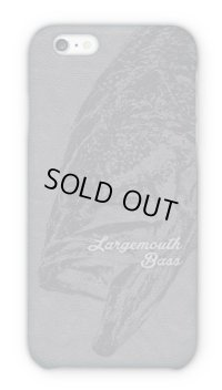 【Angler's Case】Cell-phone Case - BASS - GRAY (built-to-order) (Product code:2015030804)
