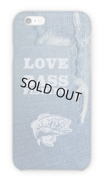【Angler's Case】Cell-phone Case - Love Bass Fishing  - (built-to-order) (Product code: 2015070601)