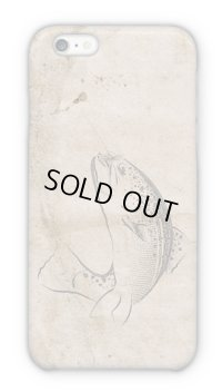 【Angler's Case】Cell-phone Case - Waste Paper and Trout - (built-to-order) (Product code:2015031901)