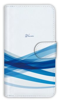 【Angler's Case】【Notebook Type】Cell-phone Case - Image of Wave 2 - (built-to-order) (Product code:diary2015110203)
