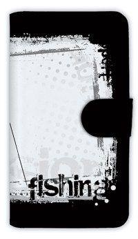 【Angler's Case】【Notebook Type】Cell-phone Case - fishing horizontal background - (built-to-order) (Product code:diary2015110410)