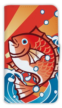【Angler's Case】【Notebook Type】Cell-phone Case - MADAI - (built-to-order) (Product code:diary2015103002)