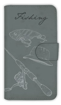【Angler's Case】【Notebook Type】Cell-phone Case - Fishing Tackle -  (built-to-order) (Product code:diary2015110709)