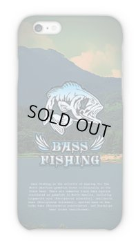 【Angler's Case】Bass Fishing Lowrider-font blue (built-to-order) (Product code:2015091801)