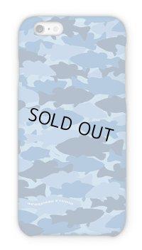 【Angler's Case】HEDGEHOG STUDIO - BASS Camouflage - Sky Blue (built-to-order) (Product code: 2016011606)