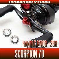 Handle Knob +2BB Bearing Kit for 16 Scorpion
