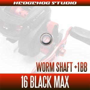 Photo2: Worm Shaft +1BB Bearing Kit for 16 BLACK MAX