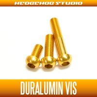 【DAIWA】 Duralumin Screw Set 5-8-13 【STEEZ・IS】 GOLD