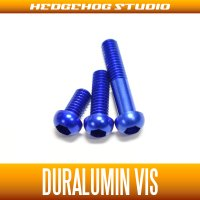 【DAIWA】 Duralumin Screw Set 5-8-13 【STEEZ・IS】 SAPPHIRE BLUE