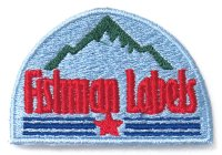 [Fishman] Fishman Labels Patch (code:FM8074)
