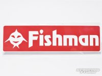[Fishman] Fishicon Fishman Sticker Red (code:FM1273)