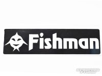 [Fishman] Fishicon Fishman Sticker Black (code:FM1266)