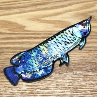 【B-SIDE LABEL STICKER】 Arowana - BLUE (BSL005)