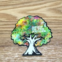 【B-SIDE LABEL STICKER】 Tree (WHITE) (BSL020)
