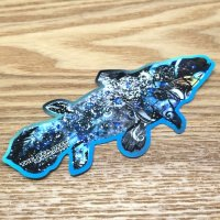 【B-SIDE LABEL STICKER】 Coelacanth (Galaxy) (BSL007)