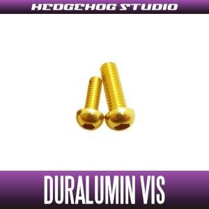 Photo1: 【Abu】 Duralumin Screw Set 6-8 【RBSC】 GOLD