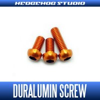 【DAIWA】 Duralumin Screw Set 5-5-8 【TD-ZILLION】 ORANGE
