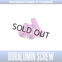 【DAIWA】 Duralumin Screw Set 5-5-8 【TD-ZILLION】 PINK *discontinued