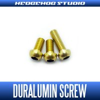 【DAIWA】 Duralumin Screw Set 5-5-8 【TD-ZILLION】 CHAMPAGNE GOLD