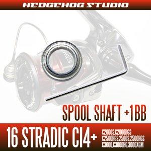 Photo2: 16 STRADIC Ci4+  C2000S, C2000HGS, C2500HGS, 2500S, 2500HGS, C3000, C3000HG, 3000XGM Spool Shaft 1 Bearing Kit [M size]  【SHG】