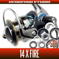 14X FIRE 2510PE-H,2510R-PE,3012H Full Bearing Kit