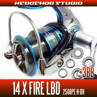 14X FIRE LBD 2508PE-H-DH Full Bearing Kit