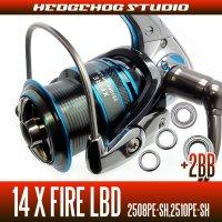 14X FIRE LBD 2508PE-SH,2510PE-SH Full Bearing Kit